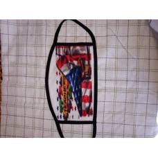 Teacher  American Flag Fashion Face Mask