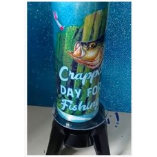 Crappie day for fishing - tumbler
