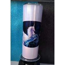 Tumbler - Unicorn Purple Glitter